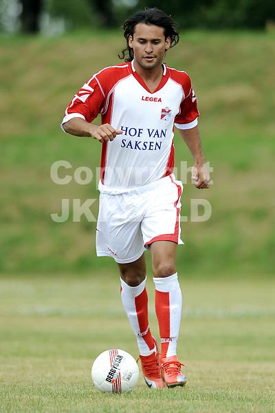 voetbal fc emmen seizoen 2009-2010 08-07-2009 pedro beda.