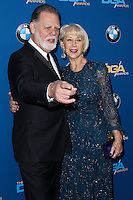 CENTURY CITY, CA - JANUARY 25: Taylor Hackford, Helen Mirren at the 66th Annual Directors Guild Of America Awards held at the Hyatt Regency Century Plaza on January 25, 2014 in Century City, California. (Photo by Xavier Collin/Celebrity Monitor)