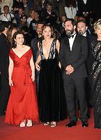 VALERIA GOLINO<br /> STEFANO MORDINI<br /> MONTEE DES MARCHES DU FILM JUSTE LA FIN DU MONDE<br /> RED CARPET OF THE MOVIE<br /> JUSTE LA FIN DU MONDE<br /> 69 EME FESTIVAL DE CANNES