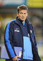 KV Kortrijk : Rudi Verkempinck..foto VDB / BART VANDENBROUCKE