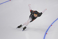 OLYMPIC GAMES: PYEONGCHANG: 19-02-2018, Gangneung Oval, Long Track, 500m Men, Nico Ihle (GER), ©photo Martin de Jong