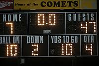 Varsity Football against Reed-Custer 8/30/19