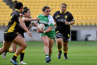 Jayme Nuku of the Manawatu during the Farah Palmer Cup Rugby – Wellington v Manawatu at Sky Stadium, Wellington, New Zealand on Friday 25 September 2020. <br /> Photo by Masanori Udagawa. <br /> www.photowellington.photoshelter.com