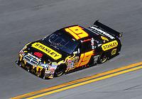 Feb 07, 2009; Daytona Beach, FL, USA; NASCAR Sprint Cup Series driver Elliott Sadler during practice for the Daytona 500 at Daytona International Speedway. Mandatory Credit: Mark J. Rebilas-
