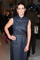Kirsty Gallagher<br /> at the Jasper Conran AW17 show as part of London Fashion Week AW17 at Claridges, London.<br /> <br /> <br /> ©Ash Knotek  D3230  17/02/2017