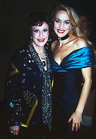 Ruth Warwick Jerri Hall 1982<br /> Photo by Adam Scull/PHOTOlink