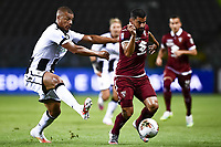 Sebastien De Maio of Udinese Calcio and Tomas Rincon of Torino FC compete for the ball during the Serie A football match between Torino FC and Udinese at Olimpico stadium in Torino ( Italy ), June 23th, 2020. Play resumes behind closed doors following the outbreak of the coronavirus disease. <br /> Photo Image Sport / Insidefoto