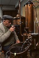 Europe/France/Limousin/19/Corrèze/Meymac: Fabrique de liqueurs Rougerie-Frères [Non destiné à un usage publicitaire - Not intended for an advertising use] <br /> PHOTO D'ARCHIVES // ARCHIVAL IMAGES<br /> FRANCE 1980