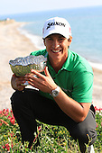 Thorbjorn Olesen (DEN) after winning on Day 4 of the 2012 Sicilian Open at Verdura Golf and Spa Resort, Sicily, Italy...(Photo Jenny Matthews/www.golffile.ie)