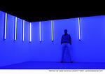 DIVINE....variation théâtrale chorégraphiée d'après :  Notre-Dame-des-Fleurs..de : Jean Genet..mise en scène : Gloria Paris..chorégraphie : Daniel Larrieu..salle Christian-Bérard..avec : Daniel Larrieu ..scénographie et lumières : Laurent P. Berger..adaptation : Gloria Paris, Daniel Larrieu..costumes : Margaret Stretchout..conseiller musical : Le Tone..assistante à la mise en scène : Shady Nafar..travail du texte : Georges Roiron..Le 16/01/2012..Théâtre Athénée Louis Jouvet, Paris..© Laurent Paillier / photosdedanse.com..All rights reserved