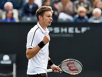 Netherlands, Rosmalen , June 08, 2015, Tennis, Topshelf Open, Autotron, Nicolas Mahut (FRA)<br /> Photo: Tennisimages/Henk Koster