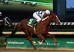 June 28, 2015 Cosmic Evolution (Calvin Borel) wins the 115th running of the Debutante Stakes at Churchill Downs.  Owner Stephen L. Fidel, trainer Lon Wiggins. ©Mary M. Meek/ESW/CSM