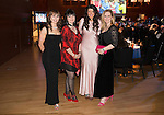 St Johnstone FC Scottish Cup Celebration Dinner at Perth Concert Hall...01.02.15<br /> From left, Rachael Simms, Beverley Mayer, Fiona McLeod and Karin Ferguson<br /> Picture by Graeme Hart.<br /> Copyright Perthshire Picture Agency<br /> Tel: 01738 623350  Mobile: 07990 594431