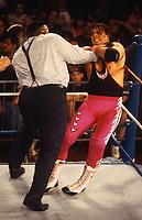 Mr Hughes & Bart Hart 1993<br /> Photo By John Barrett/PHOTOlink