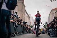 Lux Champ Bob Jungels (LUX/Quick Step Floors) at the Team presentation in La Roche-sur-Yon<br /> <br /> Le Grand Départ 2018<br /> 105th Tour de France 2018<br /> ©kramon