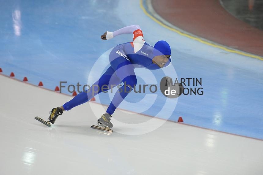 SPEED SKATING: SALT LAKE CITY: 22-11-2015, Utah Olympic Oval, ISU World Cup, Shani Davis, ©foto Martin de Jong