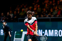 Rotterdam, The Netherlands, 12 Februari 2020, ABNAMRO World Tennis Tournament, Ahoy, Robin Haase (NED.<br /> Photo: www.tennisimages.com