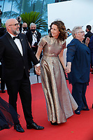 """CANNES, FRANCE - JULY 13: Sylvain Marcel, Valerie Lemercier, Pascale Desrochers at the """"Aline, The Voice Of Love"""" screening during the 74th annual Cannes Film Festival on July 13, 2021 in Cannes, France. <br /> CAP/GOL<br /> ©GOL/Capital Pictures"""