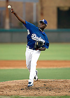 Rubby De La Rosa - AZL Dodgers - 2009 Arizona League.Photo by:  Bill Mitchell/Four Seam Images..