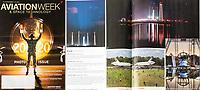 Art Harman's award-winning magazine photo in the 2020 Aviation Week Photo Contest-of the Antares Rocket.