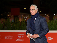 Italian Olympic committee CONI President  Giovanni Malago' arrives at the 16th edition of the Rome Film Fest in Rome, on October 22, 2021.<br /> UPDATE IMAGES PRESS/Isabella Bonotto
