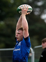 Saturday 5th September 2021<br /> <br /> Flyn Pyper during U18 Schools inter-pro between Ulster Rugby and Leinster at Newforge Country Club, Belfast, Northern Ireland. Photo by John Dickson/Dicksondigital
