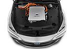 Car Stock 2021 Toyota Mirai Executive 4 Door Sedan Engine  high angle detail view
