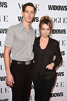 """Harris Dickinson and Rose Gray<br /> arriving for the """"Widows"""" special screening in association with Vogue at the Tate Modern, London<br /> <br /> ©Ash Knotek  D3457  31/10/2018"""