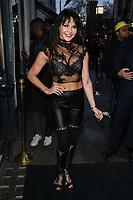 Lizzie Cundy<br /> arriving for James Ingham's Jog on to Cancer 2018 at Cafe de Paris, London<br /> <br /> ©Ash Knotek  D3391  04/04/2018