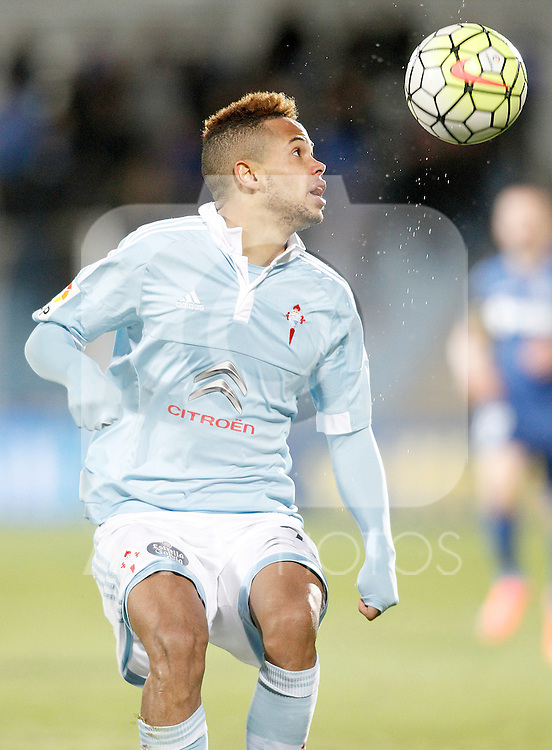 Celta de Vigo's Theo Bongoda during La Liga match. February 27,2016. (ALTERPHOTOS/Acero)