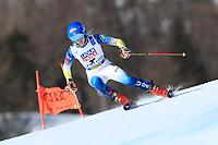 18th February 2021; Cortina d'Ampezzo, Italy;  FIS Alpine World Ski Championships 2021 Cortina  Women's Giant Slalom,  Mikaela Shiffrin (USA)