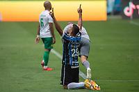 18th November 2020; Arena de Gremio, Porto Alegre, Brazil; Brazil Cup, Gremio versus Cuiaba; Diego Souza of Gremio celebrates his second goal in the 42th minute for 2-0