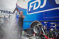 post-classics-season bike wash<br /> <br /> Liège-Bastogne-Liège 2014
