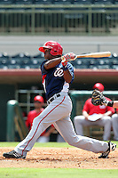 Washington Nationals outfielder Michael Taylor #3 during an Instructional League game against the Houston Astros at Osceola County Stadium on September 26, 2011 in Kissimmee, Florida.  (Mike Janes/Four Seam Images)
