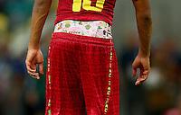 Jordan Ayew of Ghana wears his shorts low revealing some interesting underwear
