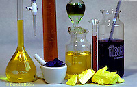 CX03-001b  Chemistry apparatus - chemicals and glassware for chemistry lab