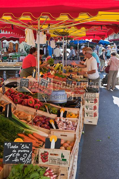 Europe/France/Provence-Alpes-Côte d'Azur/84/Vaucluse/Lubéron/Apt: Sur le marché