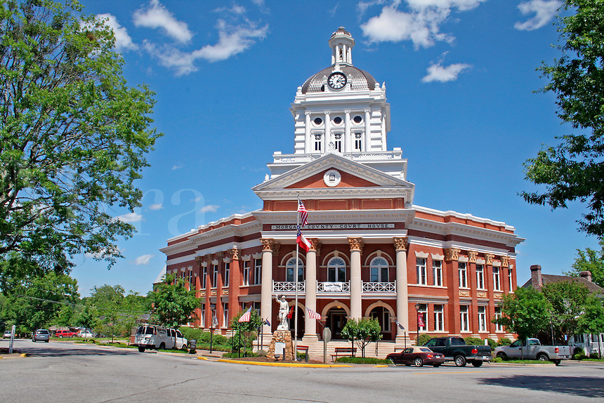 Historic Morgan County Courthouse in Madison Georgia