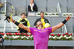 Spanish Rafa Nadal during Mutua Madrid Open Tennis 2017 at Caja Magica in Madrid, May 10, 2017. Spain.<br /> (ALTERPHOTOS/BorjaB.Hojas)