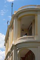 France, Aquitaine, Pyrénées-Atlantiques, Béarn, Pau:  Le Pavillon des Arts est un lieu d'exposition, ancien établissement de bains puis casino  //  France, Pyrenees Atlantiques, Bearn, Pau