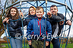 Claudia, Betty, Marcel and Slawomir Rutkowska from Tralee enjoying a stroll in the Tralee town park on Sunday.