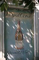 Europe/France/Corse/2B/Haute-Corse/Cap Corse/Bastia: Royal corse - Détail de la façade de la maison Mattéi 15 boulevard du Général de Gaulle [Non destiné à un usage publicitaire - Not intended for an advertising use]