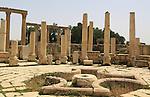 Jerash fountain
