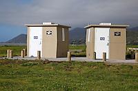 Public Restrooms, near Opotiki, Bay of Plenty, Highway 35.