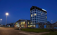Nederland  Amsterdam -  2020. Amsterdam Noord. NDSM Werf. Hilton DoubleTree Hotel.  Foto : ANP/ HH / Berlinda van Dam