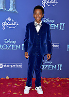 """LOS ANGELES, USA. November 08, 2019: Ramon Reed at the world premiere for Disney's """"Frozen 2"""" at the Dolby Theatre.<br /> Picture: Paul Smith/Featureflash"""