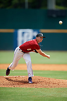 Will Koger (8) of Bardstown High School in Bardstown, KY during the Perfect Game National Showcase at Hoover Metropolitan Stadium on June 18, 2020 in Hoover, Alabama. (Mike Janes/Four Seam Images)