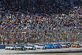 #4: Kevin Harvick, Stewart-Haas Racing, Ford Mustang Busch Beer / Ducks Unlimited, #20: Erik Jones, Joe Gibbs Racing, Toyota Camry Sport Clips
