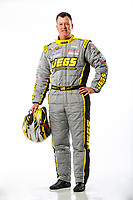 Feb 7, 2018; Pomona, CA, USA; NHRA pro stock driver Jeg Coughlin Jr poses for a portrait during media day at Auto Club Raceway at Pomona. Mandatory Credit: Mark J. Rebilas-USA TODAY Sports