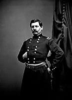 Gen George B. McClellan, ca.  1863. Mathew Brady Collection.  (Army)<br /> Exact Date Shot Unknown